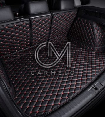 Black and Red Carmelo Car Boot Liner